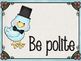 Cute Birds Classroom Rules Posters