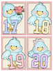 Cute Birds Numbers Cards 1-20