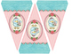 Cute Birds Small Welcome Bunting Flags