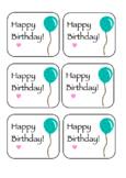 Cute Birthday Tags