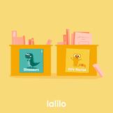 Cute Book Bin Labels
