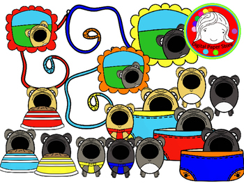 Cute Bug-Eye French Bulldog Clipart (Personal & Commercial Use)