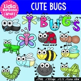 Cute Bugs Bundle {Clip Art for Teachers}