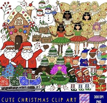 Cute Bumper Ultimate Christmas Clip Art
