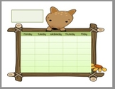 Cute Calendar - No Weekends