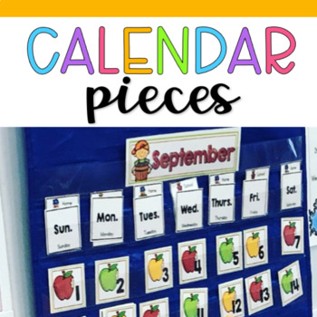 Cute Patterning Calendar Set