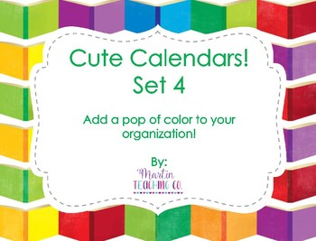 image regarding Cute Calendars known as Adorable Calendars 4