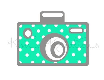 Cute Camera Clipart