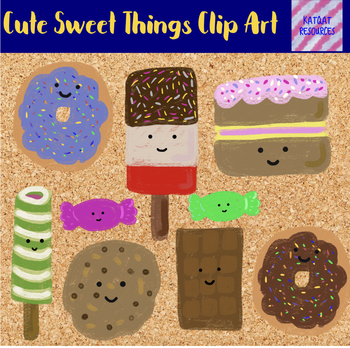 Cute Candy Clip Art - Sweet Things