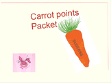 Cute Carrot Points Packet