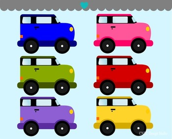 Cars clipart commercial use