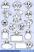 Cute Cartoon Stars Clipart Set Vol.1 / Fun Star Emoji Emotions Emoticons Mascots