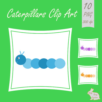 Caterpillar Clipart Clip Art Insects Bugs