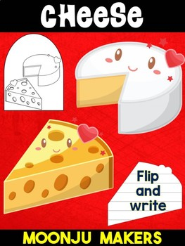 Cute Cheese - Moonju Makers for Activities, Crafts, Writing, and Decor