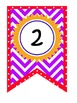 Cute A-Z Chevron Banner Kit