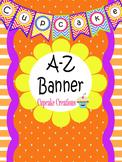 Cute A-Z Chevron Banner Kit