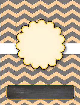 Cute Chevron Printable Papers! FREE