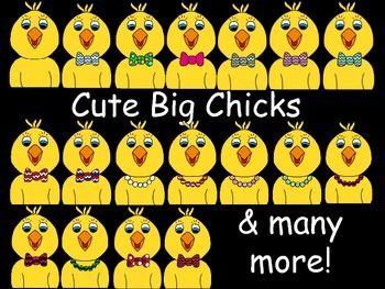 Cute Chick Clip Art