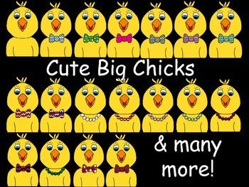 Cute Chick Clip Art