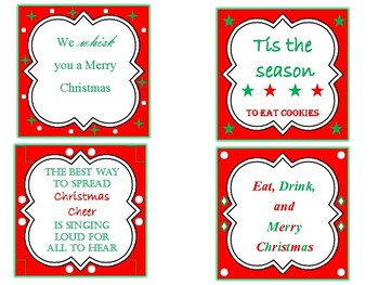 Cute Christmas Gift Labels!