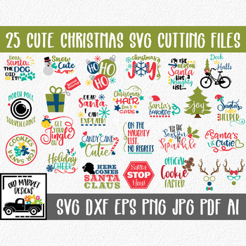 View Christmas Svg Pack Cutting Files SVG