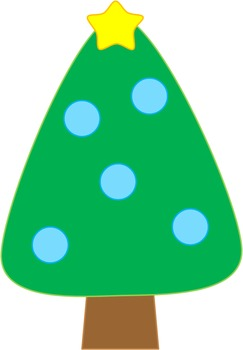 Christmas Tree (Cute Clipart)