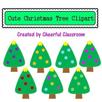 Christmas Tree (Cute Clipart)