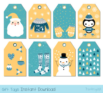 picture about Cute Gift Tags Printable named Lovable Xmas reward tags, Holiday vacation labels printable choose tag, Reward bag tags