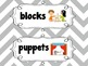 Classroom Labels {Cute Chunky Chevron }