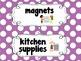 Classroom Labels {Cute Chunky Polka Dot}