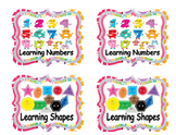 Cute Classroom Labels Pac2