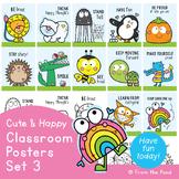 Cute Classroom Posters Set 3