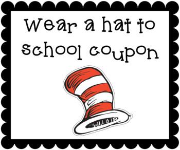 Cute Classroom Reward Coupons