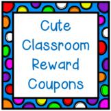 Cute Classroom Reward Coupons Set 2
