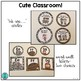 Cute Classroom! (animal print alphabet, number and shape classroom decor)
