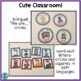 Cute Classroom! (dual language charts and decor-Gomez and Gomez style)