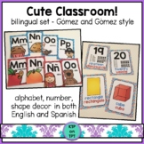 Cute Classroom! (dual language Gomez and Gomez style)