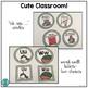 Cute Classroom! (monkey, green polka dots alphabet and number decor)