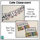 Cute Classroom! (red and black polka dots alphabet and number decor)