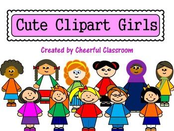 Girls (Cute Clipart)