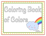 Cute Coloring Book of Colors