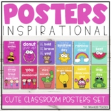 Cute Colourful Classroom Posters