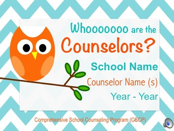 Back to School Counseling Presentation