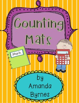 FREE Cute Counting Mats (by 1s, 5s, and 10s)