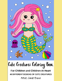 Cute Creatures Coloring Book - Printable PDF Book