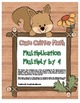 """""""Cute Critter Math"""" Multiply 4 - Common Core - Multiplication Fun! (full color)"""