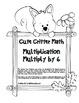 """Cute Critter Math"" Multiply 6 - Common Core - Multiplicat"