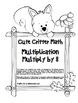 """Cute Critter Math"" Multiply 8 - Common Core - Multiplicat"