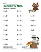 """Cute Critter Math"" Multiply 8 - Common Core - Multiplication Fun! (full color)"