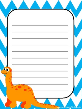 Cute Critters Creative Writing Paper